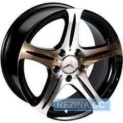 Купить REPLICA Mercedes 145 BP R16 W7.5 PCD5x112 ET35 DIA66.6