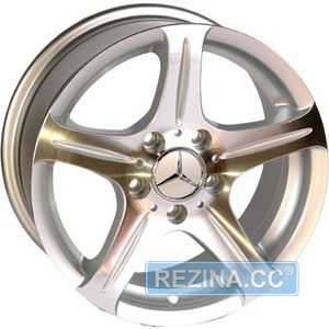 Купить REPLICA Mercedes 145 SP R16 W7.5 PCD5x112 ET35 DIA66.6