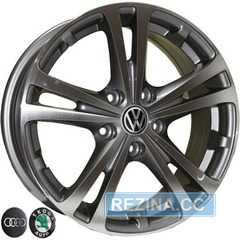 Купить REPLICA VW Z616 DGMF R15 W6 PCD5x112 ET47 DIA57.1