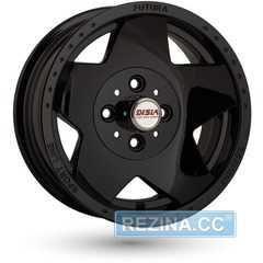 Купить DISLA Futura 312 Black R13 W5.5 PCD4x98 ET5 DIA58.6