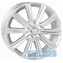 Купить REPLICA Toyota JT1377 Silver R17 W7 PCD5x114.3 ET45 DIA60.1
