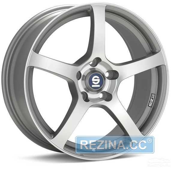 SPARCO RTT 524 MATT SILVER TECH DIAMOND CUT - rezina.cc