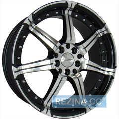 Купить KYOWA RACING KR 518 BKF R17 W7.5 PCD5x100/114. ET42 DIA73.1