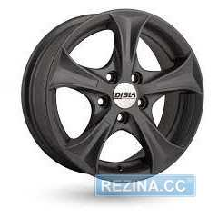 Купить DISLA Luxury 406 GM R14 W6 PCD5x100 ET37 DIA57.1