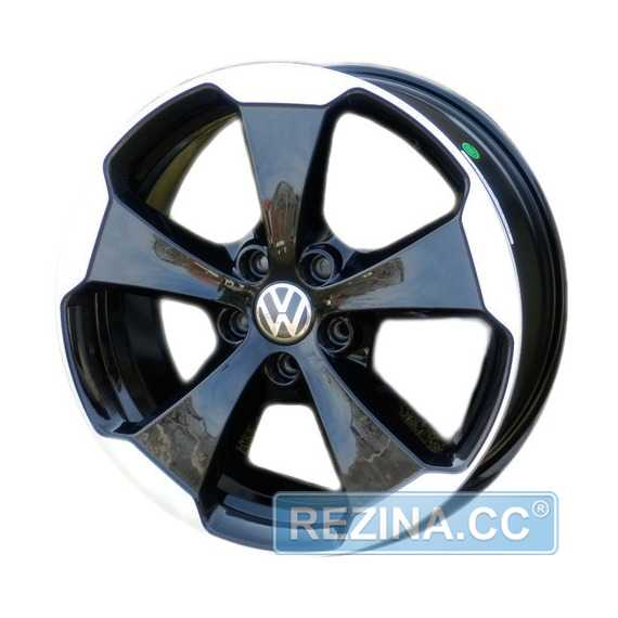 WSP Italy W465 Laceno VO65 Glossy Black Polished - rezina.cc