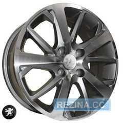 Купить REPLICA PEUGEOT Z1039 DGMF R16 W6.5 PCD4x108 ET31 DIA65.1