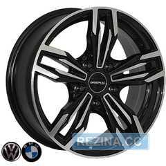 Купить REPLICA BMW Z1070 BMF R16 W6.5 PCD5x120 ET25 DIA74.1