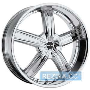Купить MI-TECH (MKW) M-103 CHROME R18 W7.5 PCD5x110/114. ET40 DIA73.1