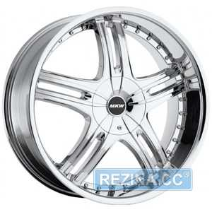 Купить MI-TECH (MKW) M-105 CHROME R18 W7.5 PCD5x112/114. ET40 DIA73.1