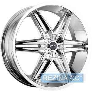 Купить MI-TECH (MKW) M-106 CHROME R20 W8.5 PCD5x114.3/12 ET35 DIA73.1