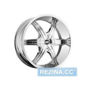Купить MI-TECH A 606 Chrome R20 W8.5 PCD5x114.3/12 ET20 DIA73.1