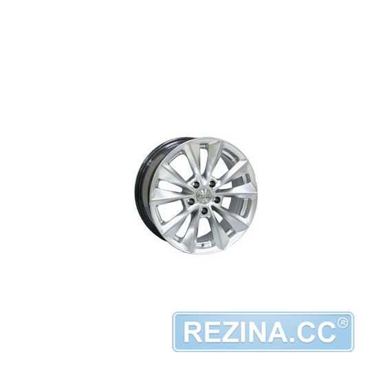 RW (RACING WHEELS) H 393 Silver - rezina.cc