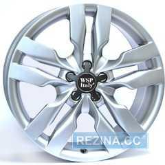 Купить WSP ITALY S6 MICHELE W552 SILVER R18 W8 PCD5x112 ET45 DIA57.1