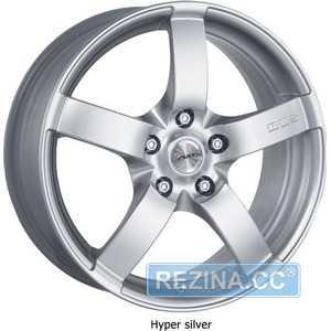 Купить AVUS Falcon Hyper Silver R17 W8 PCD5x112 ET35 DIA66.6