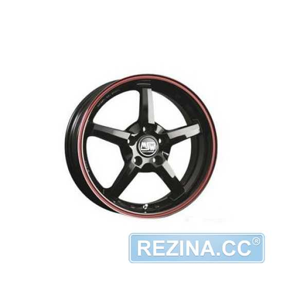 MSW 16 Gross Black Red Lip (GBRL) - rezina.cc