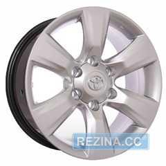 Купить ZD WHEELS TOYOTA 64 S R17 W7.5 PCD6x139.7 ET25 DIA106.1