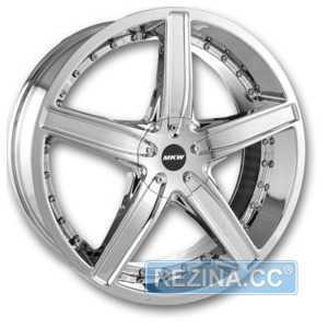 Купить MKW () M-107 Chrome R18 W7.5 PCD5x114.3/120 ET40 DIA73.1