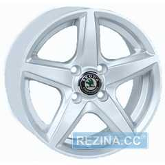 REPLICA Skoda JT 244R Silver - rezina.cc
