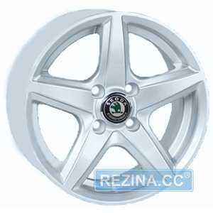 Купить REPLICA Skoda JT 244R Silver R15 W6.5 PCD5x112 ET35 DIA73.1