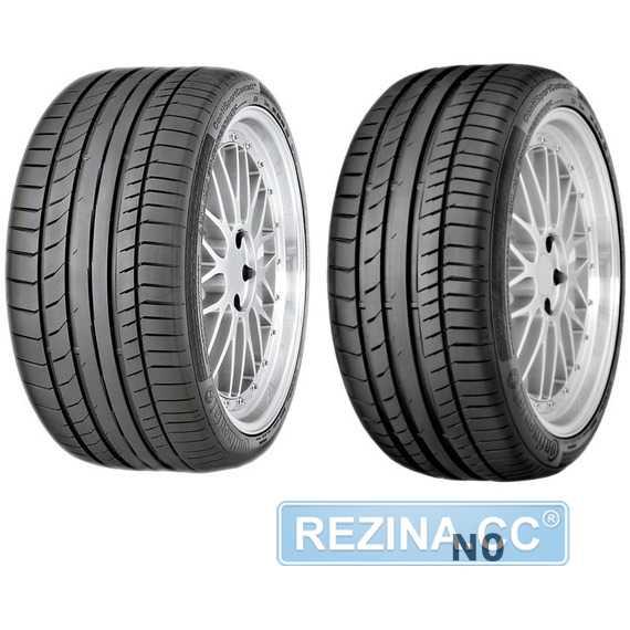 Купить Летняя шина CONTINENTAL ContiSportContact 5 255/35R19 92Y Run Flat
