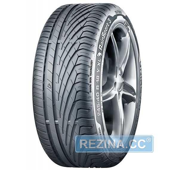 Купить Летняя шина UNIROYAL RainSport 3 195/55R16 87T