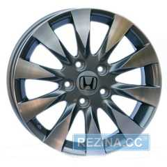 Купить Wheels Factory WHN2 GUN METAL MACHINED FACE R16 W6.5 PCD5x114.3 ET45 DIA64.1
