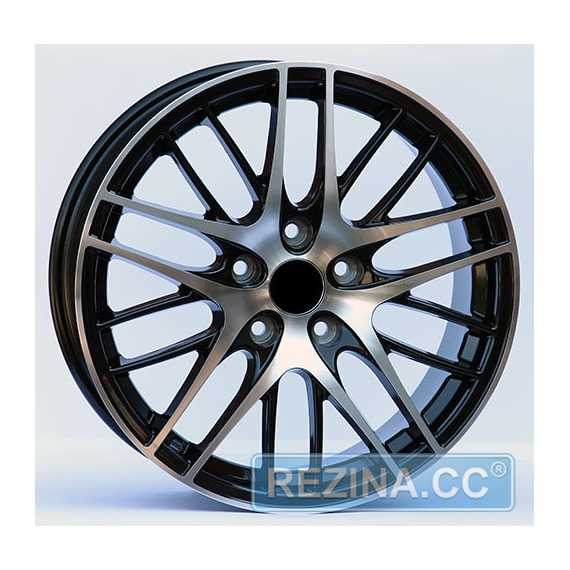 Wheels Factory WHN1 BLACK MACHINED FACE - rezina.cc