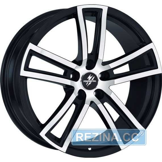 FONDMETAL Tech 6 Black Polished Naked - rezina.cc
