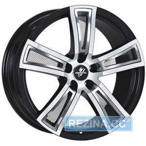 Купить FONDMETAL Tech 6 Black Polished R17 W7.5 PCD5x110 ET35 DIA65.1