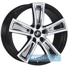 Купить FONDMETAL Tech 6 Black Polished R17 W7.5 PCD5x112 ET48 DIA57.1