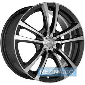 Купить RW (RACING WHEELS) H-346 GM/FP R15 W6.5 PCD4x100 ET40 DIA67.1