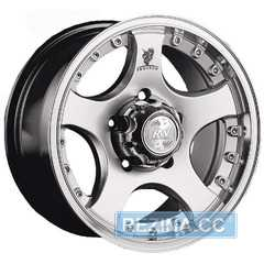 Купить RW (RACING WHEELS) H-323 HS/DP R17 W8 PCD6x139.7 ET20 DIA108.2