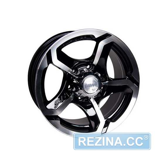 RW (RACING WHEELS) H-409 BK/FP - rezina.cc