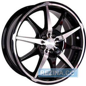 Купить RW (RACING WHEELS) H-410 BK/FP R17 W7 PCD5x114.3 ET40 DIA73.1