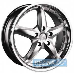 Купить RW (RACING WHEELS) H-303 DB/ST R16 W7 PCD5x112 ET40 DIA73.1