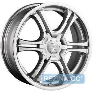Купить RW (RACING WHEELS) H-104 HS R14 W6 PCD8x100/114. ET38 DIA67.1