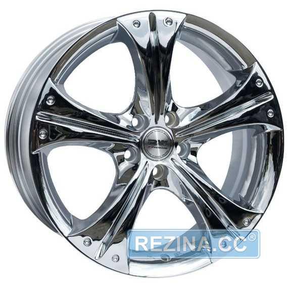 RW (RACING WHEELS) H-253 Chrome - rezina.cc