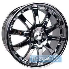 RW (RACING WHEELS) H-332A Chrome - rezina.cc