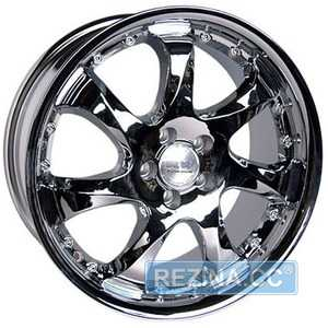 Купить RW (RACING WHEELS) H-371 CHROME R17 W7.5 PCD5x100 ET45 DIA73.1