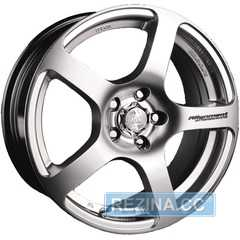 Купить RW (RACING WHEELS) H-218 HPT R14 W6 PCD4x98 ET38 DIA58.6