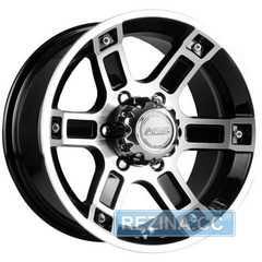 Купить RW (RACING WHEELS) H-468 BK-F/P R16 W8 PCD6x139.7 ET10 DIA110.5