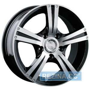 Купить RW (RACING WHEELS) H-326 BK/FP R16 W7 PCD5x114.3 ET40 DIA67.1