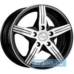 RW (RACING WHEELS) H-458 BKF/P - rezina.cc