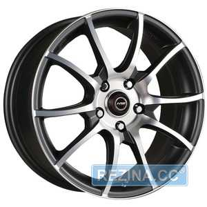 Купить RW (RACING WHEELS) H-470 BK-F/P R16 W7 PCD5x112 ET40 DIA66.6