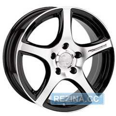Купить RW (RACING WHEELS) H531 BKFP R16 W7 PCD5x114.3 ET35 DIA67.1