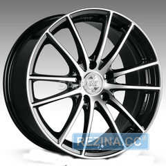 Купить RW (RACING WHEELS) H 498 BKFP R18 W7 PCD5x114.3 ET38 DIA67.1