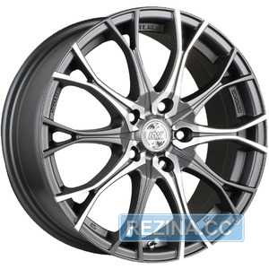 Купить RW (RACING WHEELS) H-530 DDN F/P R16 W7 PCD5x114.3 ET40 DIA67.1