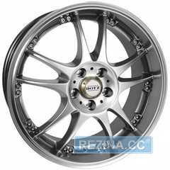 Купить DOTZ Brands Hatch Silver R15 W6.5 PCD4x100 ET38 DIA60.1