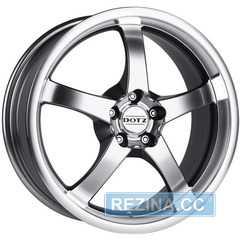 Купить DOTZ Daytona Silver R16 W7 PCD5x114.3 ET40 DIA71.6