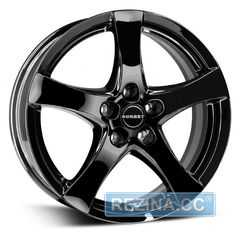 Купить BORBET F Glossy Black R16 W6.5 PCD4x108 ET25 DIA65.1